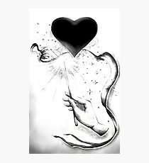 Magic Heart Photographic Print