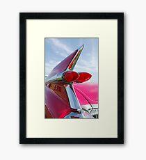 1959 Cadillac Eldorado Taillight- Pink -374c Framed Print