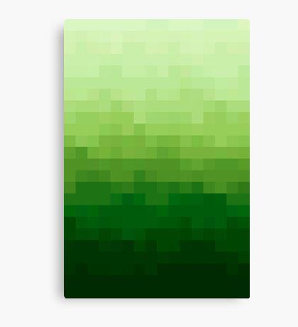 Gradient Pixel Green Lienzo