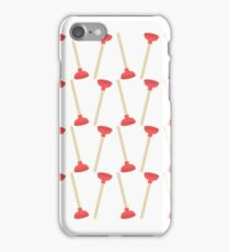 Toilet Plunger Fun iPhone Case/Skin