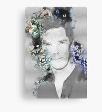 Benedict Cumberbatch - sketch with butterflies Canvas Print