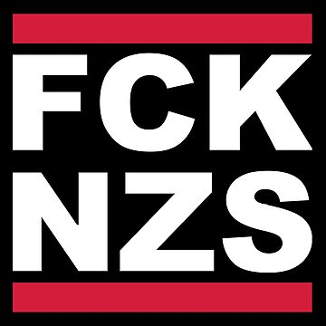 ___FUCK NAZIS___ __get the FCK NZS__ ___SICKERBOMB___ ___(6X Stickers)___ Click Artist Notes!! by derP