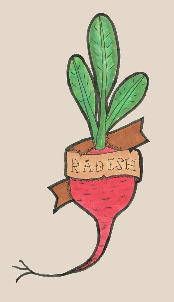 Radish by WCGross