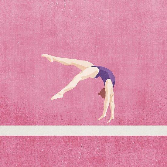SUMMER GAMES / Artistic Gymnastics von Daniel Coulmann