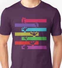 Gym poses Unisex T-Shirt