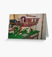 Caravans Greeting Card