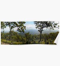 Rockhampton from Mt Archer Poster