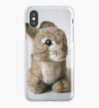 "Lil"" Cuddly Rabbit iPhone Case/Skin"