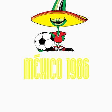 México 1986 by dalzinho
