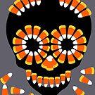 Candy Skull Halloween Theme by Patjila by patjila