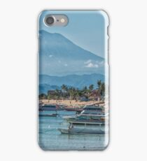 The View of Mt Agung from Nusa Lembongan iPhone Case/Skin