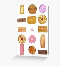 biscuits Greeting Card
