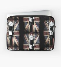 Classic British BSA Motor Cycle Tee Laptop Sleeve