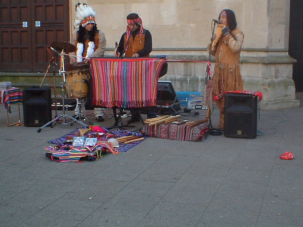 Red Indian music by Butterfly123