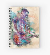 Guitar Boy Spiral Notebook