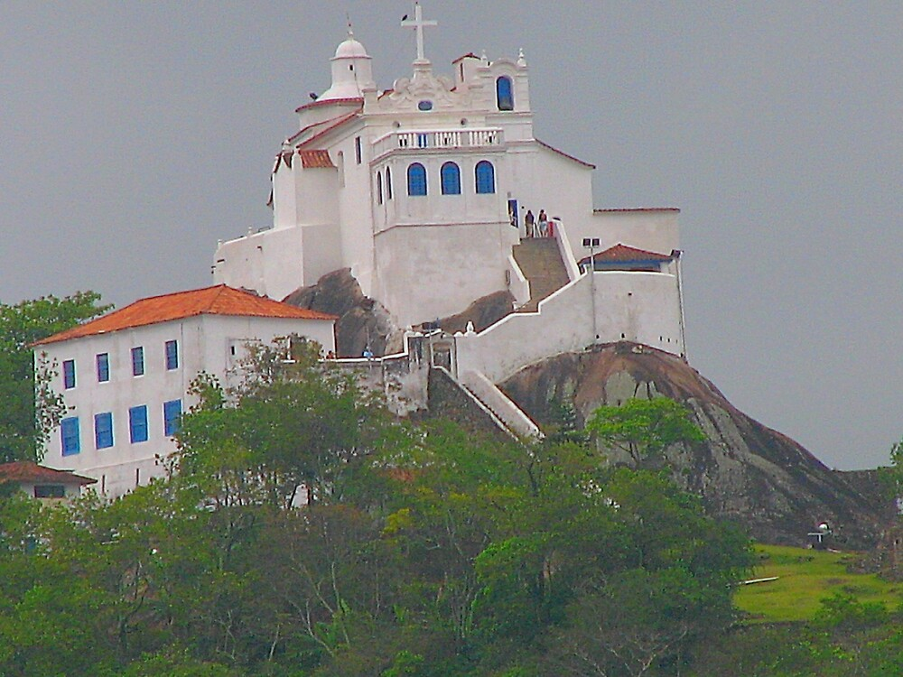 Colors of Brazil's convent by vivianlea
