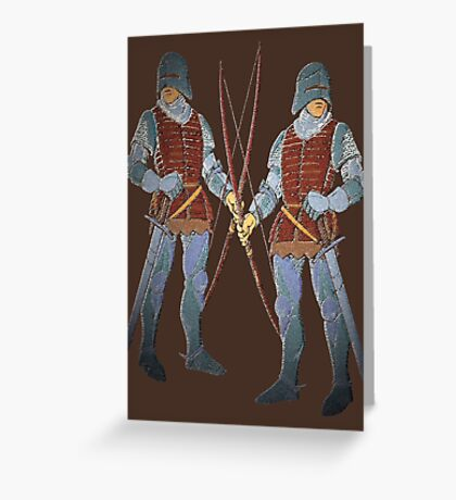 Battle Archers  Greeting Card