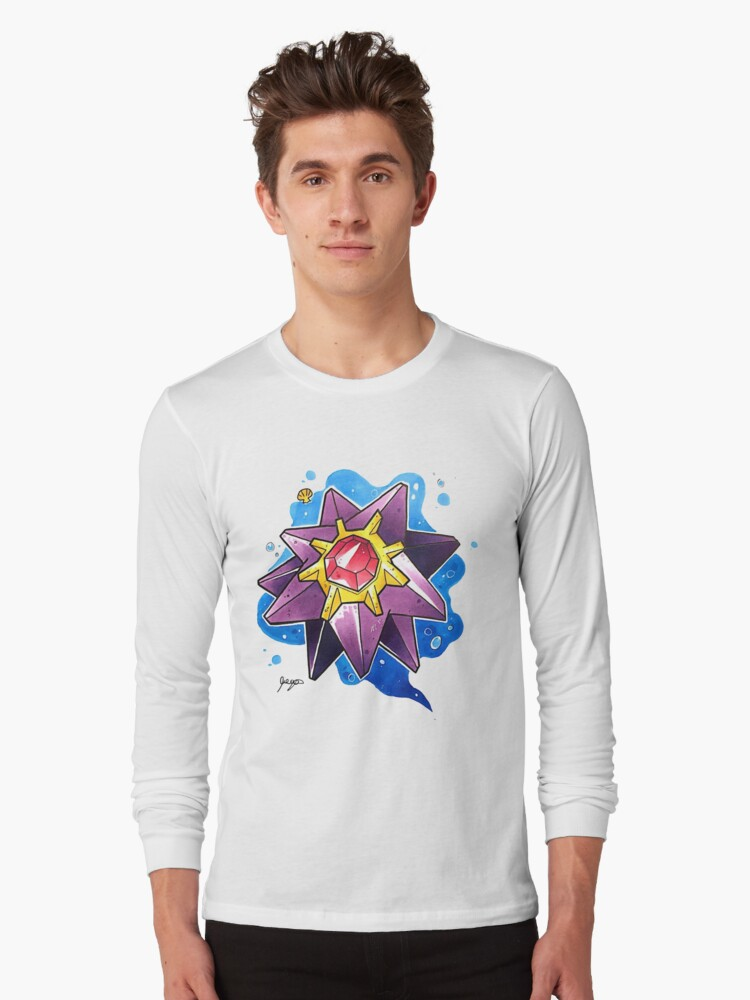 Starmie Long Sleeve T-Shirt Front