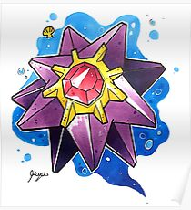 Starmie Poster