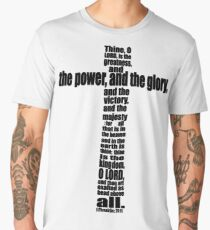 1 CHRONICLES 20:11 - THE POWER AND THE GLORY Men's Premium T-Shirt