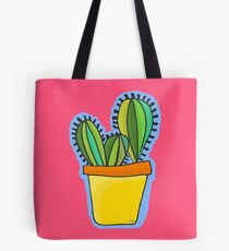 Spikey Cacti Tote Bag