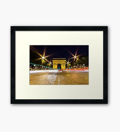 Arc De Triomphe 10 Framed Print
