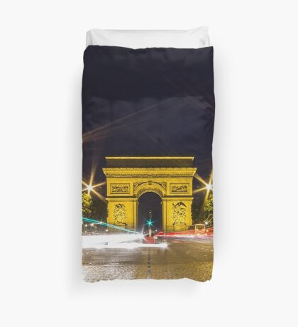 Arc De Triomphe 10 Duvet Cover
