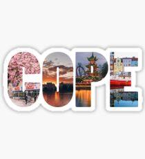 Copenhagen Block Pictures Sticker