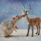Wishing you a Peaceful New Year by Ellen van Deelen