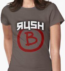 RUSH B - Counter Strike Womens Fitted T-Shirt
