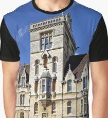 Balliol College, Broad Street, Oxford, England. Graphic T-Shirt