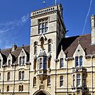 Balliol College, Broad Street, Oxford, England. by Andrew Harker