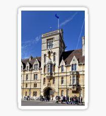 Balliol College, Broad Street, Oxford, England, United Kingdom. Sticker