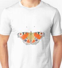 Peacock Butterfly Unisex T-Shirt