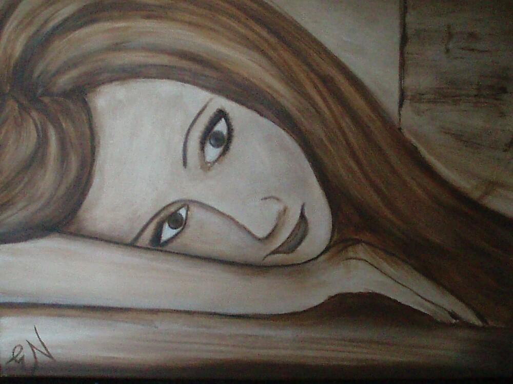 My reflection by ebonyart