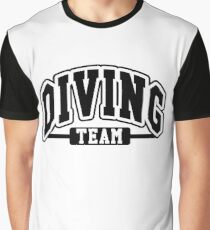 Diving Team Graphic T-Shirt