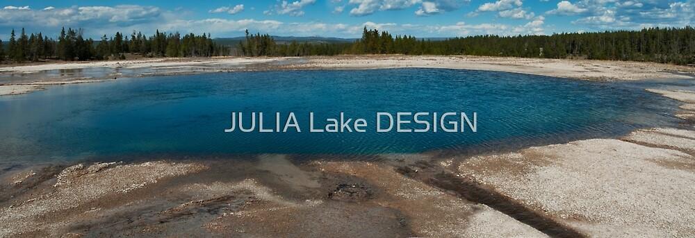 Panorama blue lake by JULIA Lake DESIGN