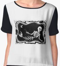 Skeleton Merman Chiffon Top