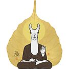 "The Daily Lama ""bodhi leaf"" by 73553"