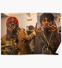 Playboi Carti and Lil Yachty Poster