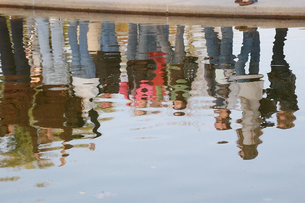Reflecting Pool by dbcarolinagirl
