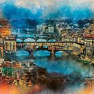 The Ponte Vecchio in Florence by Brian Tarr