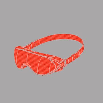Red Goggles by Dyzce