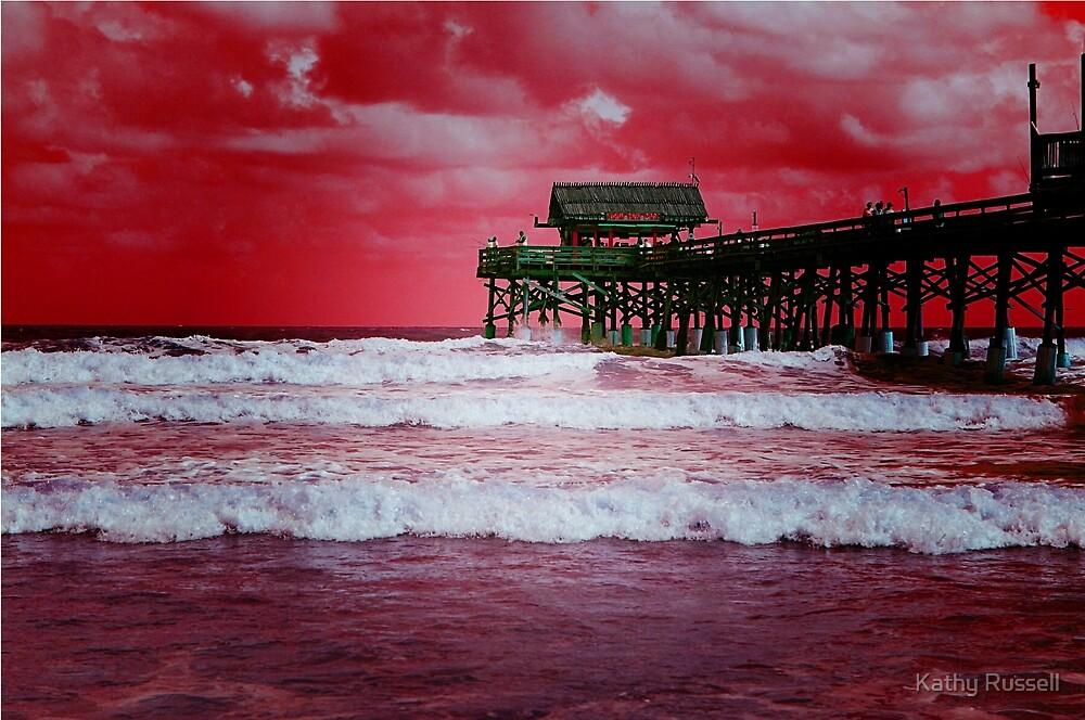 Pier by Kathy Russell