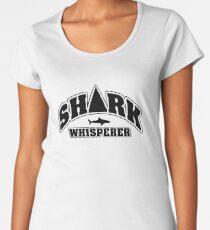 Shark whisperer Women's Premium T-Shirt