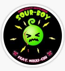 SHADY ☆ MONK 'SOUR BOY' STICKER  Sticker