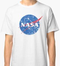 NASA Distressed Look T-Shirt Classic T-Shirt