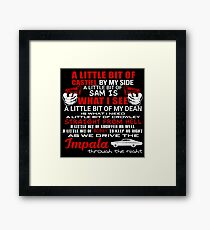 SUPERNATURAL Framed Print