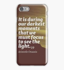 Inspirational Quotes - Leadership - 30 iPhone Case/Skin
