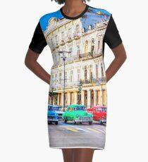 Wacky Races Havana Cuba  Graphic T-Shirt Dress